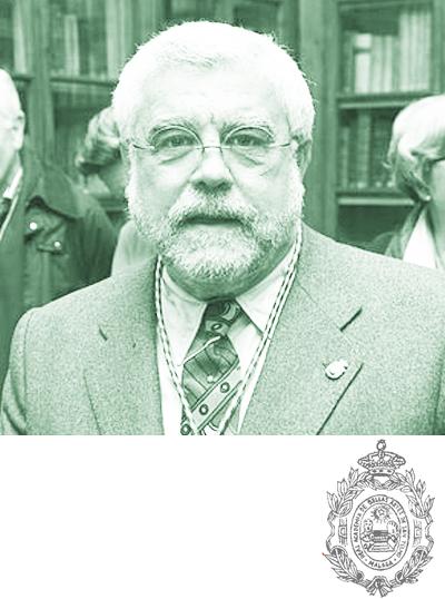 Toma de posesión del Presidente de la Académia de D. José Manuel Cabra de Luna