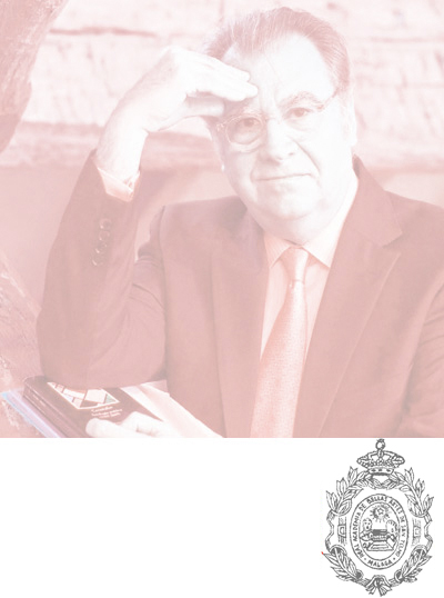 TOMA DE POSESIÓN COMO ACADÉMICO CORRESPONDIENTE  EN VALENCIA DE Dº JAIME SILES RUIZ