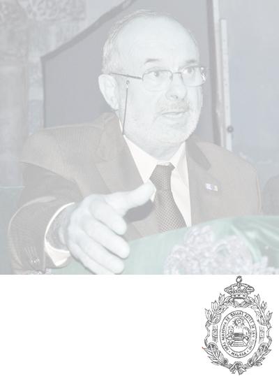 TOMA DE POSESIÓN COMO ACADÉMICO CORRESPONDIENTE EN MADRID  DE Dº Emilio de Diego García