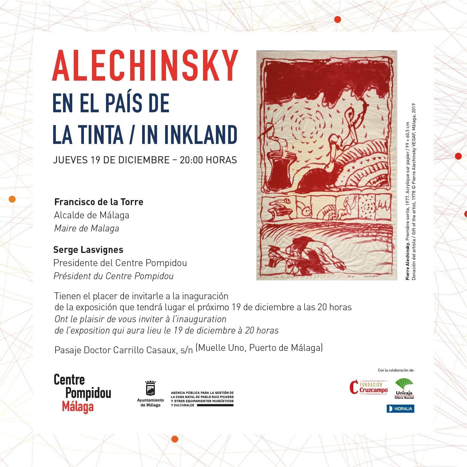 Alechinsky - Centre Pompideu